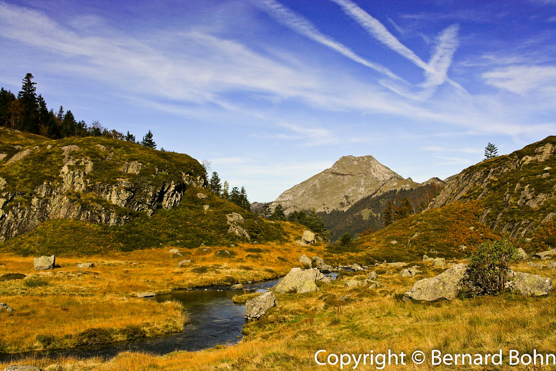 Ariège,étang du Garbet
