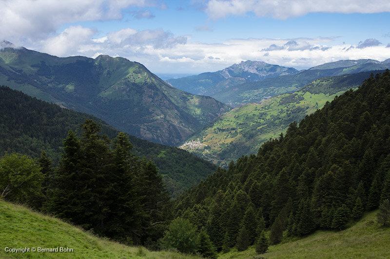 Panorama montée cabane Laujo